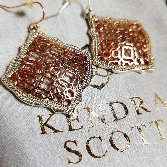 Kendra Scott Kirsten filigree earrings